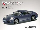 Метал.инерц. модель М1:32 RMZ CITY Porsche 911 Carrera S, арт.554010.