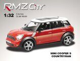Метал.инерц. модель М1:32 RMZ CITY Mini Cooper Countryman S, арт.554001.