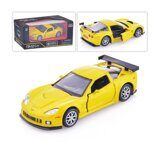 Метал.инерц. модель М1:32 RMZ CITY Chevrolet Corvette C6.R, арт.554003.
