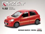 Метал.инерц. модель М1:32 RMZ CITY Nissan March , арт.554011.