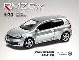 Метал.инерц. модель 5''(М1:32) RMZ CITY Volkswagen Golf  A6 GTI, арт.554018.